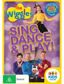 The Wiggles- Sing, Dance and Play! DVD