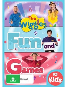 The Wiggles- Fun and Games DVD
