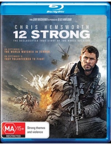 12 Strong Blu-ray