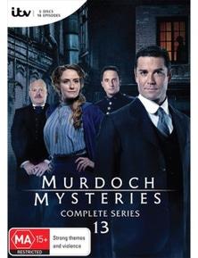 Murdoch Mysteries- Series 13 DVD