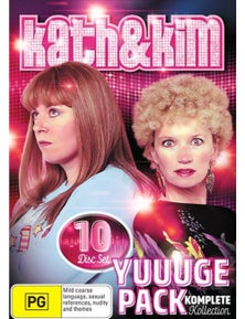 Kath and Kim's Yuuuge Pack Collection DVD