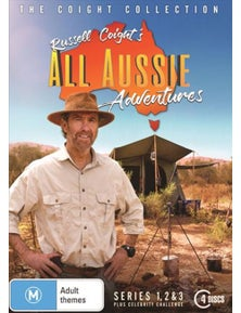 Russell Coight's All Aussie Adventure- Series 1-3 + Celebrity Collection DVD