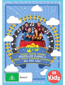 The Wiggles- Trains, Planes and Car DVD