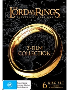 Lord Of The Rings Trilogy Boxset DVD