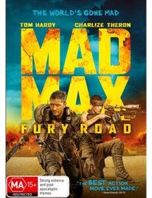 Mad Max- Fury Road DVD