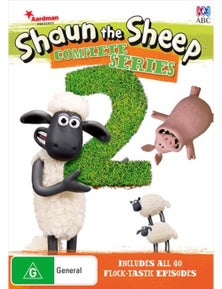 Shaun The Sheep- Season 2 DVD