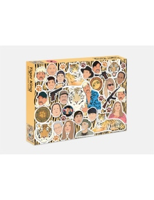 Chantel De Sousa Tiger King 500 Piece Puzzle