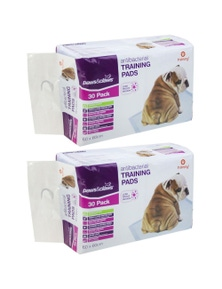 PawsClaws Antibacterial Training Pads 30pk 4x