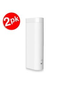 2X Xipin Lh2 5000 Mah Power Bank W/ Led Light - White