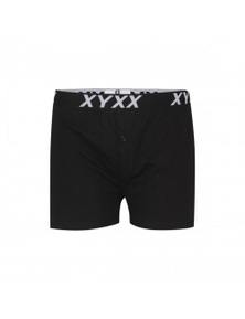 Frank and Beans Black Boxer Shorts XY Edition