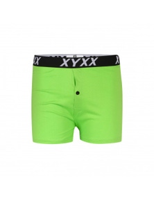 Frank and Beans Green Boxer Shorts XY Edition