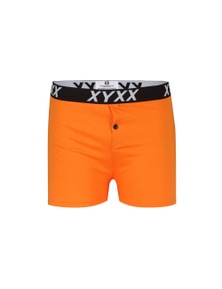 Frank and Beans Orange Boxer Shorts XY Edition