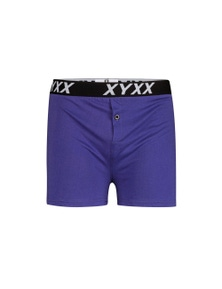 Frank and Beans Purple Boxer Shorts XY Edition