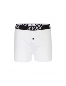 Frank and Beans White Boxer Shorts XY Edition