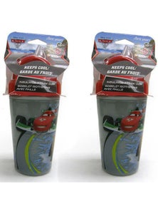 Disney Cars Insulated Straw Cup 2 Pack