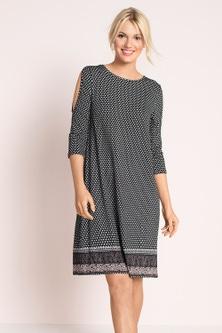 Emerge Cold Shoulder Dress
