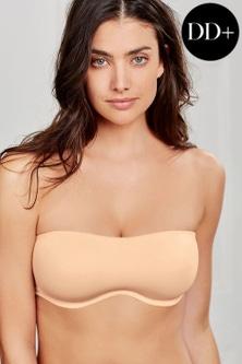 Next Nude Jamie Non Padded Minimising DD Plus Bandeau Bra