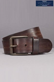 Next Brown Signature Italian Leather Belt