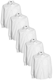 Next Long Sleeve Shirts Five Pack (3-16yrs)