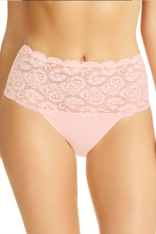 Perfects Cotton and Lace Full Brief