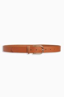 Next Tan Essential PU Belt