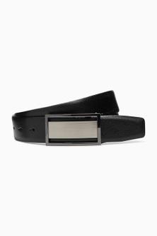Next Signature Reversible Plaque Belt