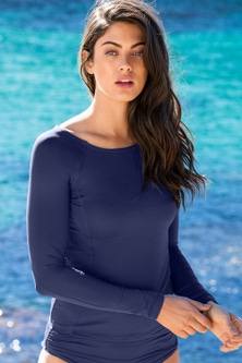 Quayside Swimwear Long Sleeve Rash Top