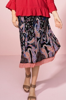 Capture Crushed Chiffon Skirt