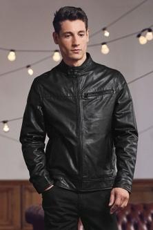 Next Leather Racer Jacket