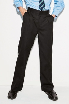 Next Pleat Trousers (3-16yrs)