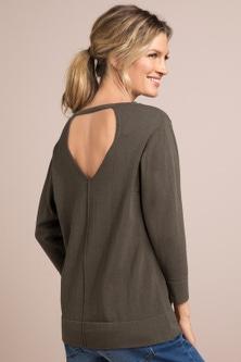 Capture Back Detail Sweater