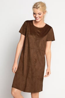 Emerge Suedette Dress
