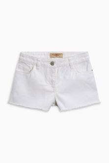 Next Frayed Hem Denim Shorts (3-16yrs)
