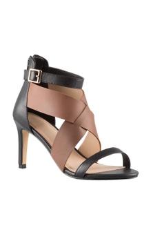 Krissie Crossover Sandal Heel