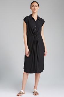 Capture Stripe Collared Dress