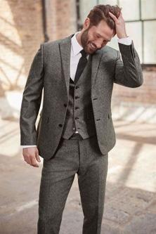 Next Slim Fit Trousers - Regular Fit