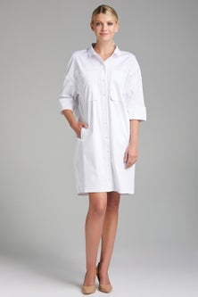 Grace Hill Pocket Detail Shirt Dress