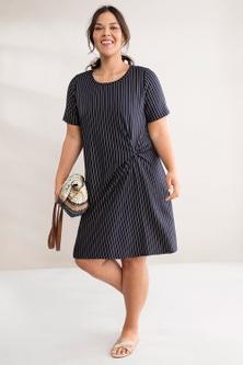 Sara Knot Front Dress