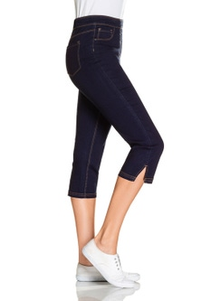 Capture Pull On Crop Jeans
