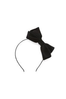 Pumpkin Patch Sleek Velvet Bow Headband