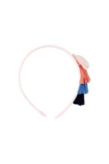 Pumpkin Patch Tassel Headband