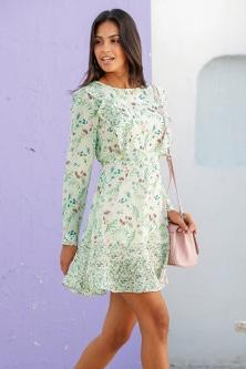 Urban Ruffle Front Dress