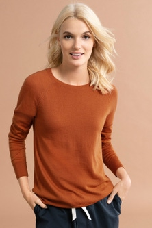Emerge Merino Crew Neck Sweater