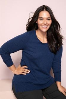 Sara Lambswool Round Neck Sweater
