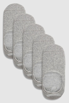 Next Invisible Trainer Socks Five Pack