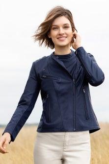 Emerge Biker Leather Jacket