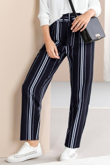 Grace Hill Belted Drape Pants