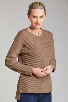 Emerge Rib Detail Sweater