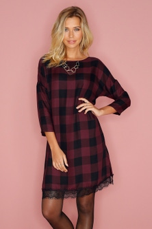 Urban Lace Hem Dress