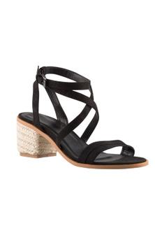 Wide Fit Folcroft Sandal Heel